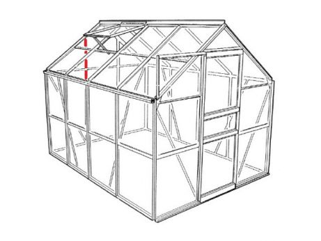 Pièce 01708, Popular, tige de verre